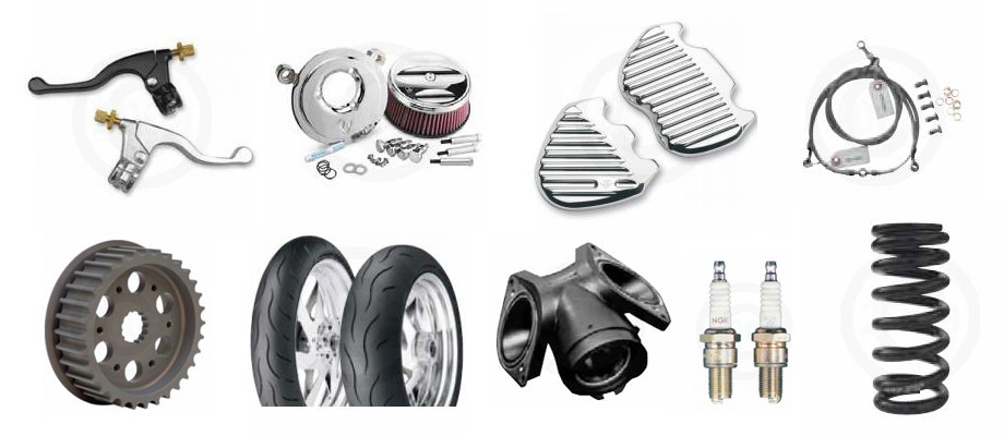 motorcycle, dirt bike, atv and scooter parts and accessories