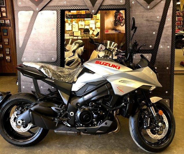 All New for 2020!!! The Katana Has Arrived! $13,499.00 / $262.13 a Month for 60 Months @ 4.99% The All New 2020 Suzuki Katana 1000 is here at North's Services! Stop in today and check it out! We offer Financing through Suzuki Financial and Greylock Federal Credit Union. Give us a call at (413) 499-3266 or stop by the shop on 515 Pittsfield Road in Lenox, MA for more details!